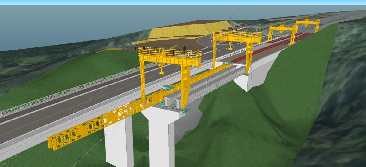 恩納南BP4号橋上部工工事