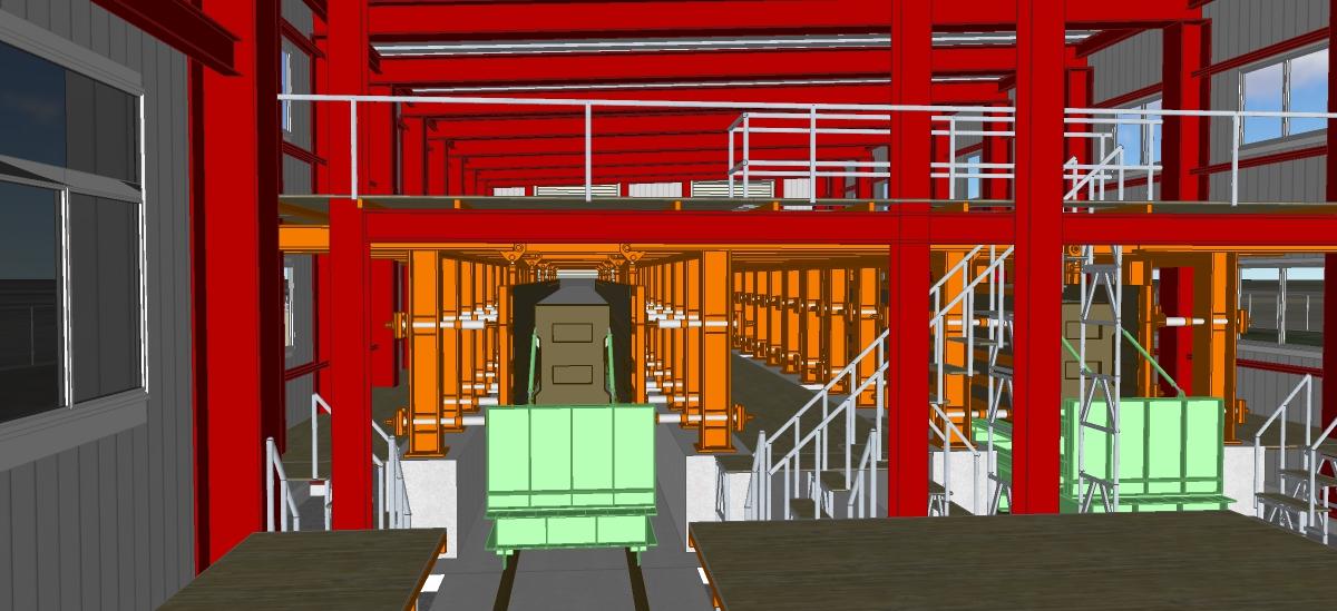 沖縄都市モノレールPC桁製作場設置工事