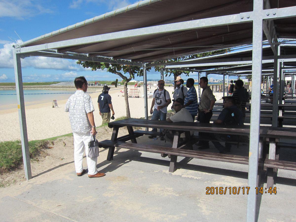 トロピカルビーチ見学