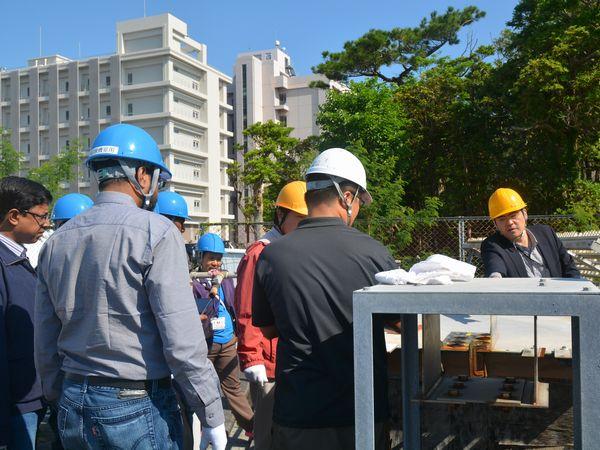 琉球大学実験室見学