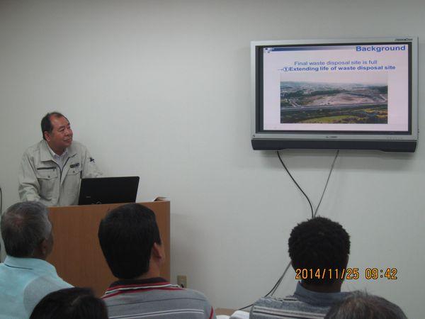「リサイクル資材について」講演