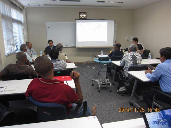「GISを活用した道路管理の有効性」講演