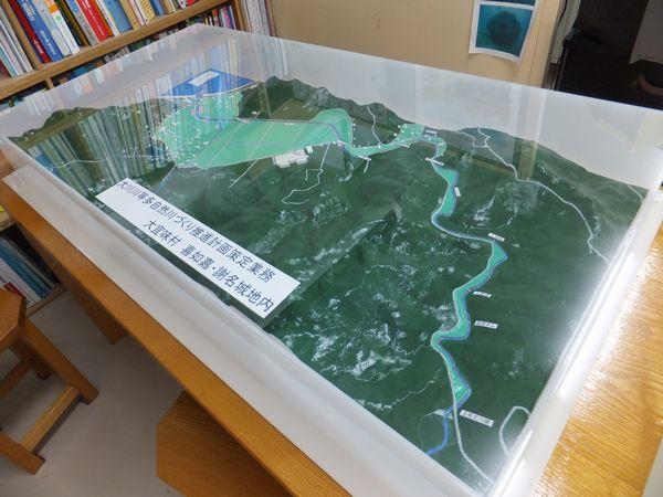 大川川模型